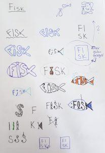 Ordsymboler fisk