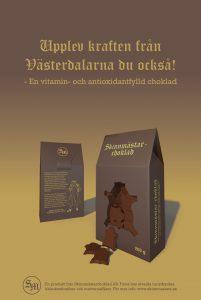 Annons till Skinnmästarchoklad