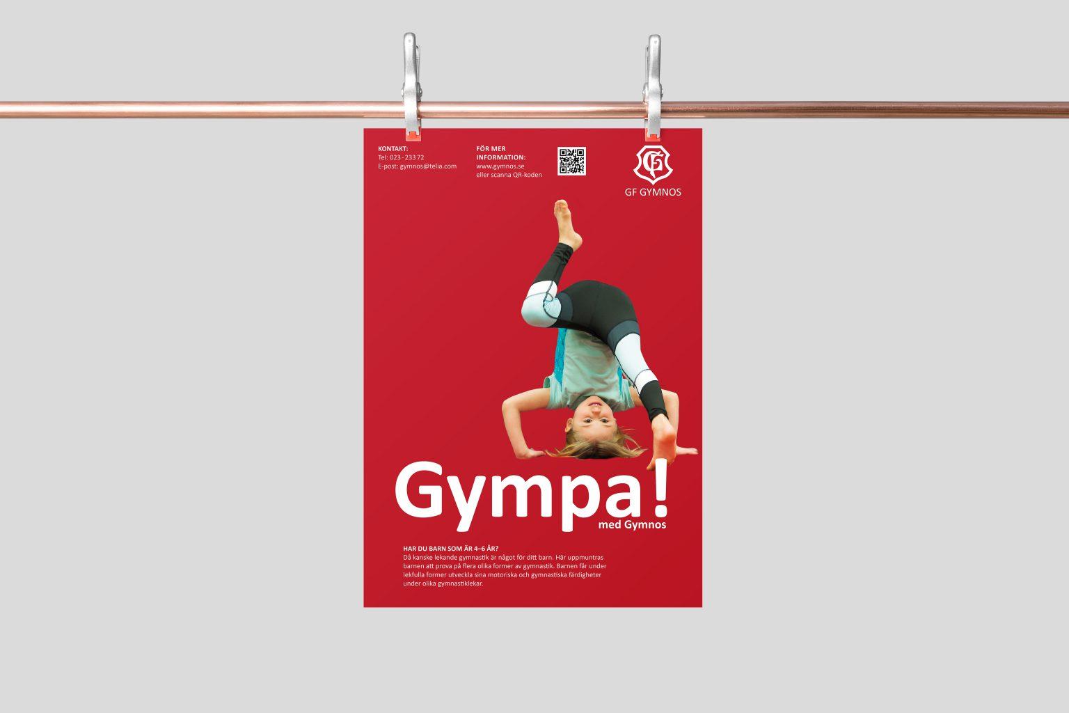 GF Gynmos affisch