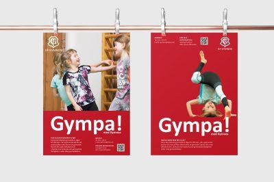Affischer till Gymnos GF
