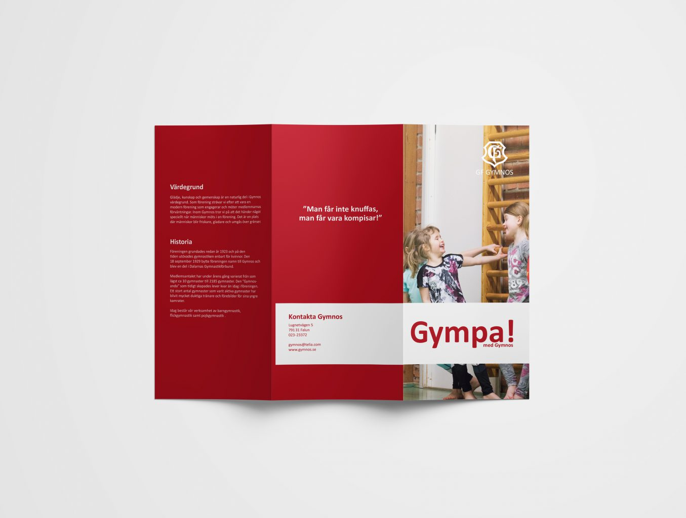 Folder Gymnos GF utsida